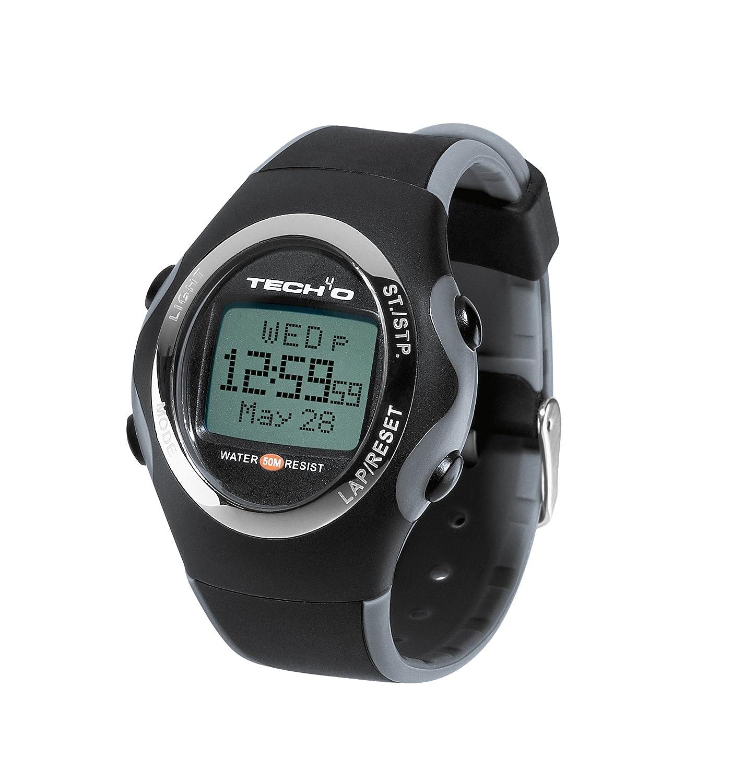 Tech4o Accelerator - Reloj negro black/steel Talla:talla única: Amazon.es: Deportes y aire libre