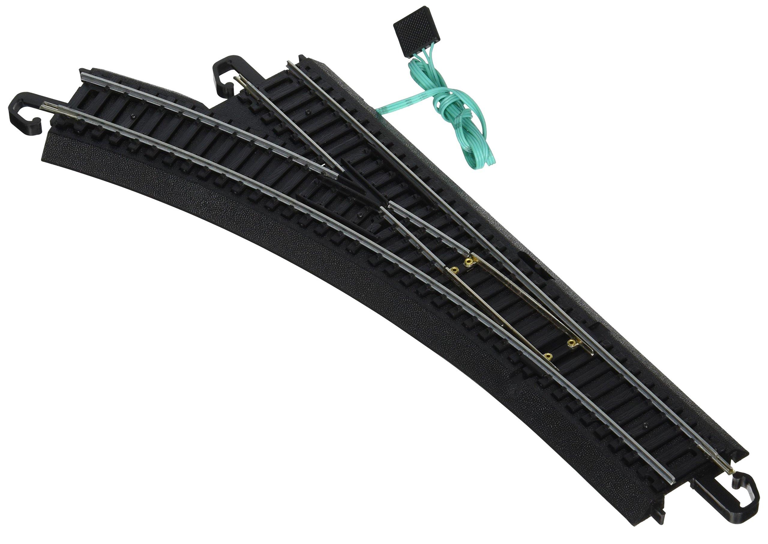 Bachmann Trains Snap-Fit E-Z Track Remote Turnout – Left - HO Scale