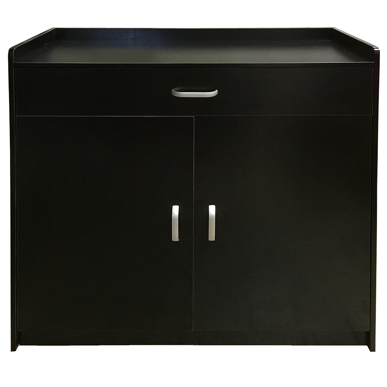black storage cabinet. Redstone Black White Or Beech Shoe Storage Cabinet Rack Cupboard - 4 Shelves + 1 Drawer Wooden Sideboard (Black): Amazon.co.uk: Kitchen \u0026 Home T