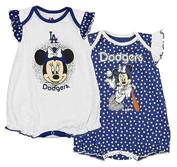 Amazon Com Mlb Infants 12m 24m Girls Los Angeles Dodgers Minnie