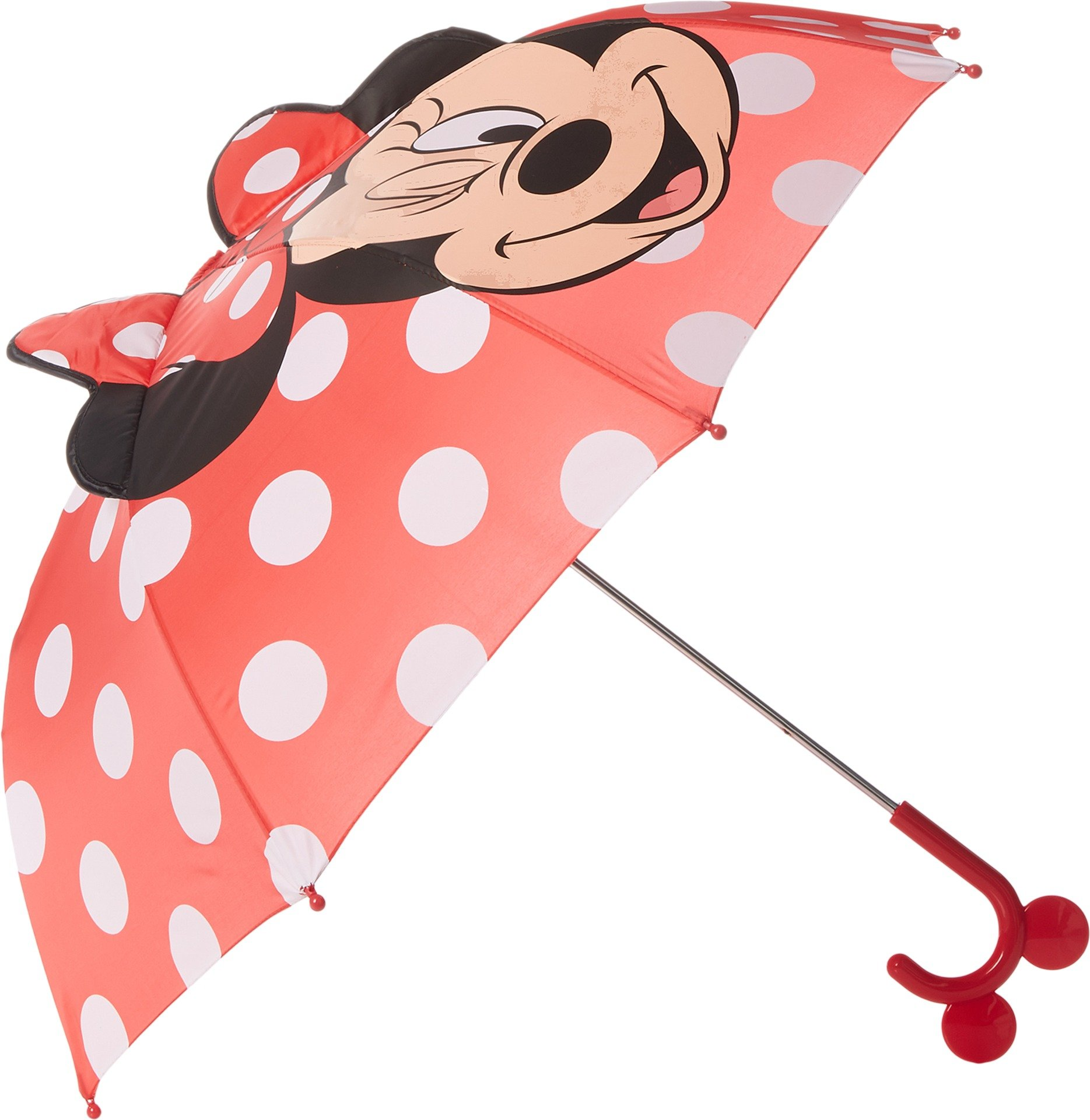 Western Chief Kids Character Umbrella, Minnie Mouse, One Size