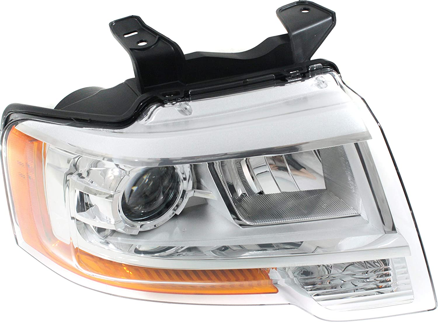 Chrome Replacement Headlight lamp LH Driver Side Fits 2007-2014 Ford Expedition