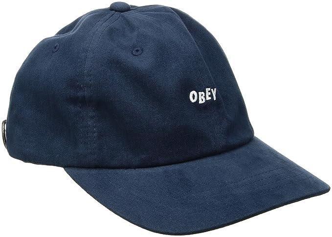 Obey - Gorra de béisbol - para Hombre Azul Azul Marino Talla única   Amazon.es  Ropa y accesorios 59317095141