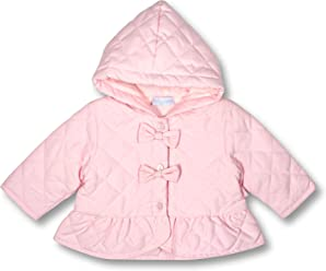 1cd502ffa Le Top Bebe Secret Garden Baby Girl Hooded Quilted Jacket