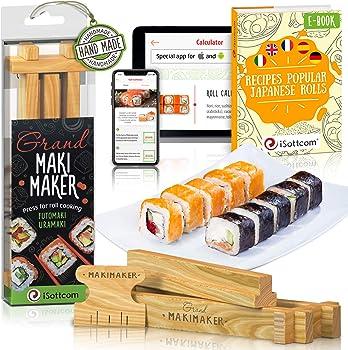 ISOTTCOM 2 Pieces Sushi Making Kit