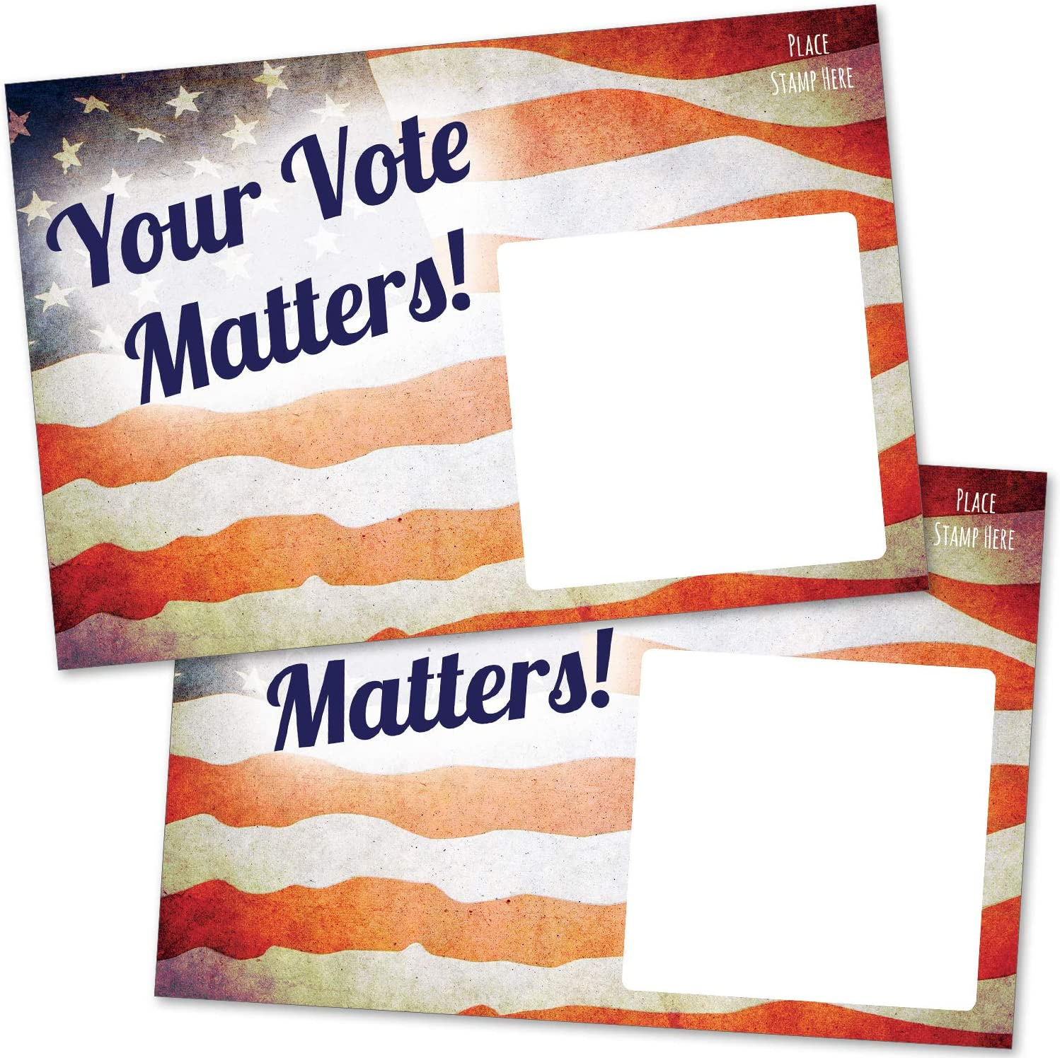 Political Postcards perfect for writing to your reps or get out the vote 100 Set of 100 mailbox postcards
