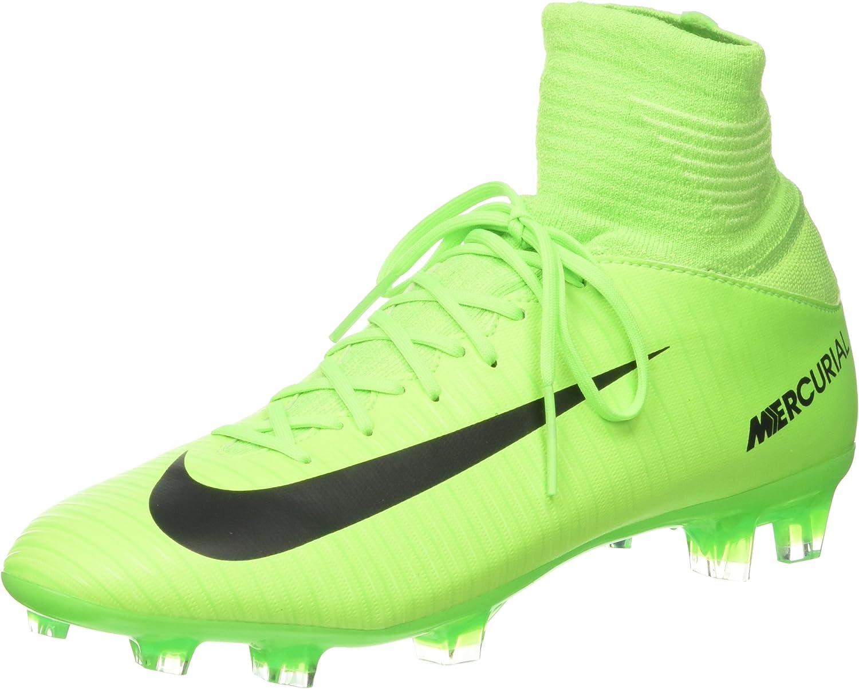 Aditivo Reverberación Contribución  Nike Boys Jr Mercurial Superfly V Fg Football Boots: Amazon.co.uk: Shoes &  Bags