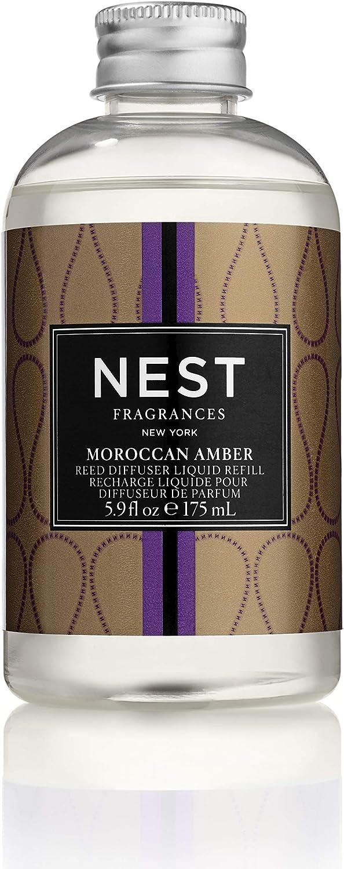 NEST Fragrances Moroccan Amber Reed Diffuser Liquid Refill