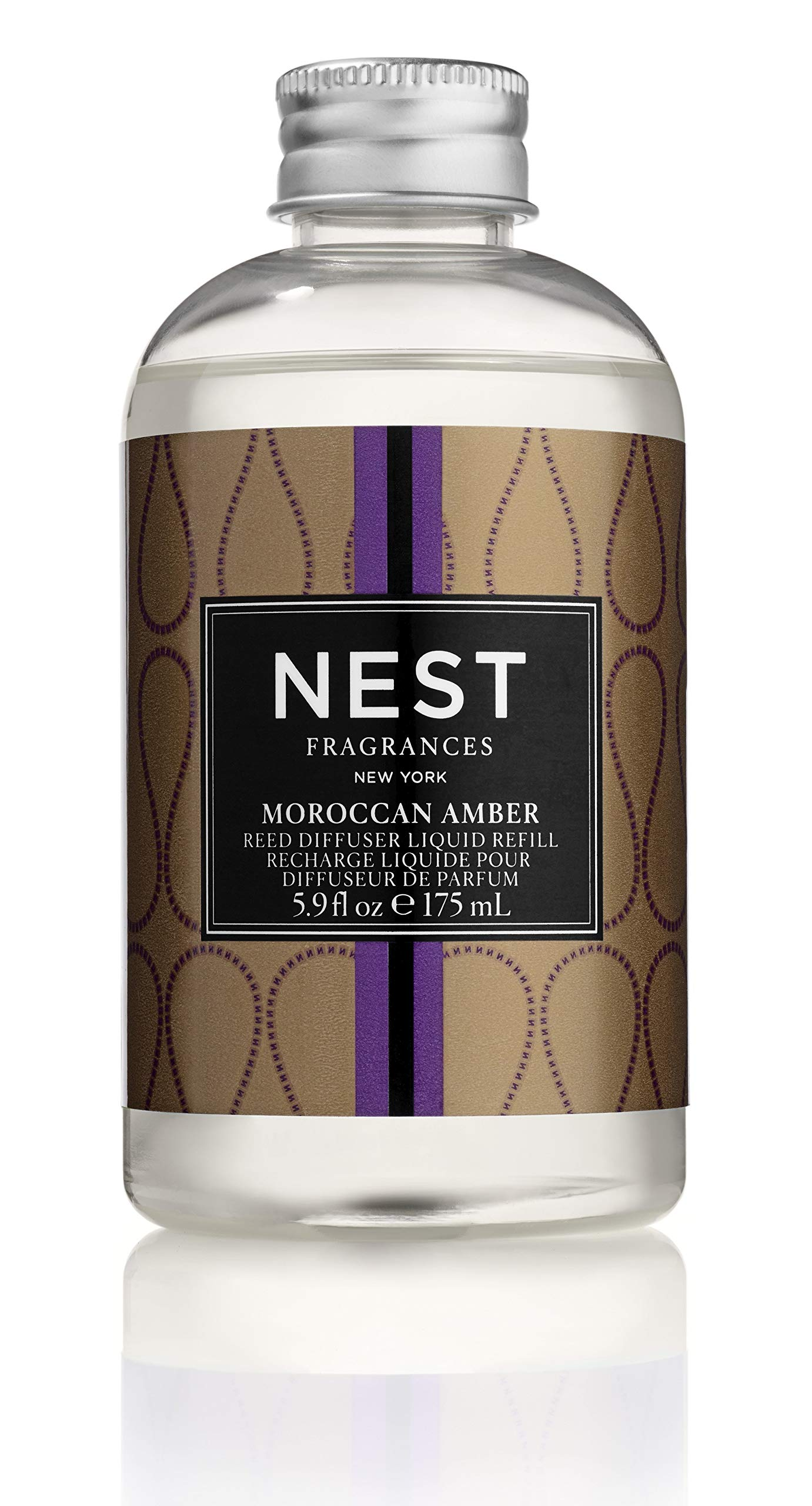 NEST Fragrances Moroccan Amber Reed Diffuser Liquid Refill by NEST Fragrances