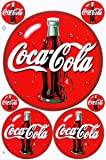 Coca Cola Decal Sticker Sheet