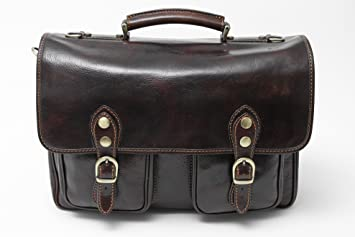 e4b044840fb Image Unavailable. Image not available for. Colour  Alberto Bellucci Mens  Italian Leather Parma Express Messenger ...