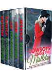 Cowboys Under the Mistletoe: Five Christmas Christian Romance Novellas (Rejoice Romance)