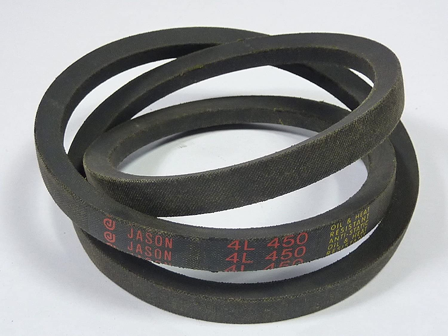 Rubber 1 Number of Band D/&D PowerDrive 4L450 MILRO LYN Replacement Belt
