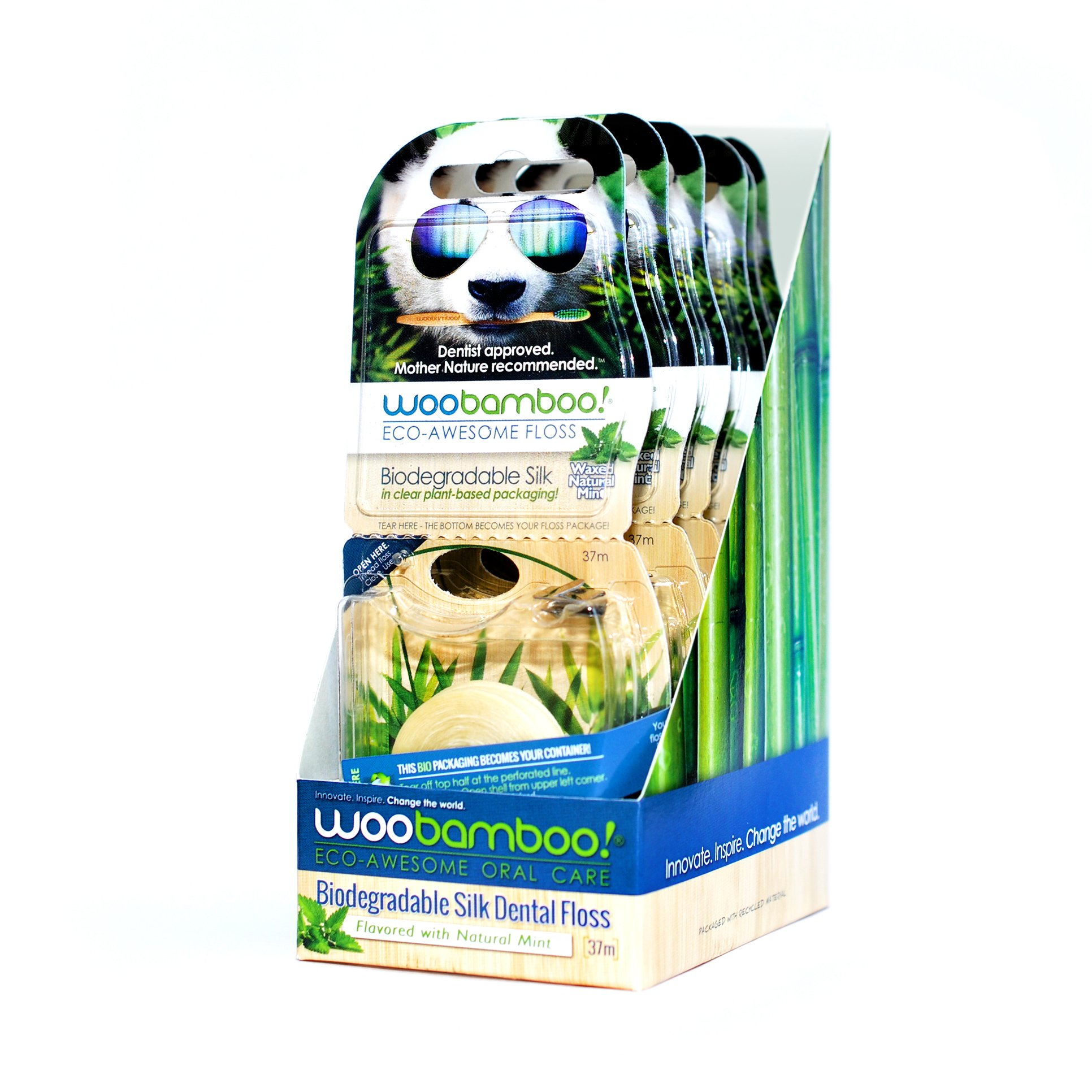 Eco-Dental Floss (Mint)-6-pack