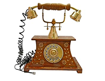 Buy ITOS365 Antique Telephone Home Dcor Vintage Items Made of