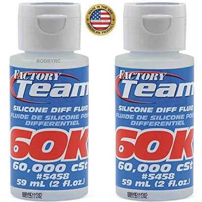 2 Pack Associated ASC5458 5458 FT Silicone Diff Fluid Oil 60 000 CST 60K LOSI TRAXXAS HPI ARRMA: Toys & Games