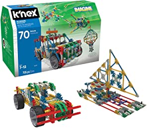 K'NEX 70 Model Building Set - 705 Pieces - Ages 7+ Engineering Education Toy (Renewed)