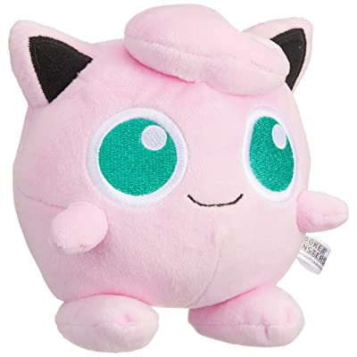 "Sanei Pokemon All Star Series Jigglypuff Stuffed Plush, 5"": Toys & Games"