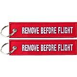 "Anhänger mit ""Remove Before Flight"" 2 Stück Pack"