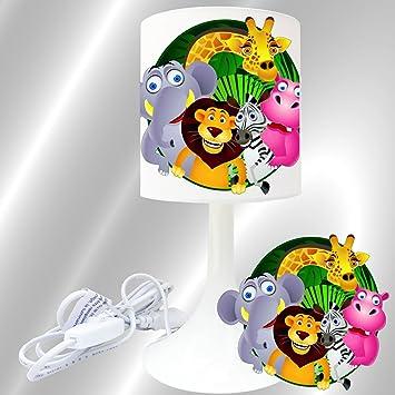 Enfant Chevet De Création Lampe À Poser JungleAmazon N8n0wOmv