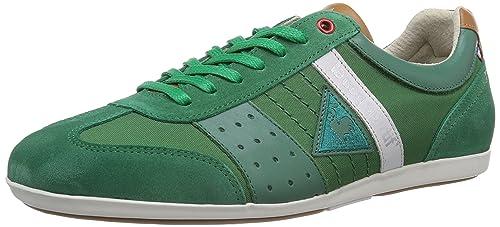 Le coq Sportif Taco Nylon Low, Zapatillas Altas para Hombre, Verde-Grün (Amazon), 47 EU: Amazon.es: Zapatos y complementos