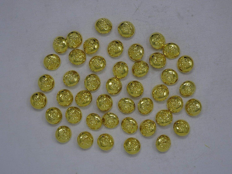 Löwenkopf 10 st.* Knöpfe.Buttons.Gold.Mantelknöpfe.Lionhead.Cabeza de León