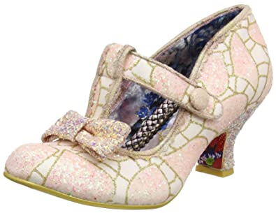 Damen Sulu Pumps, White (White), 36 EU Irregular Choice