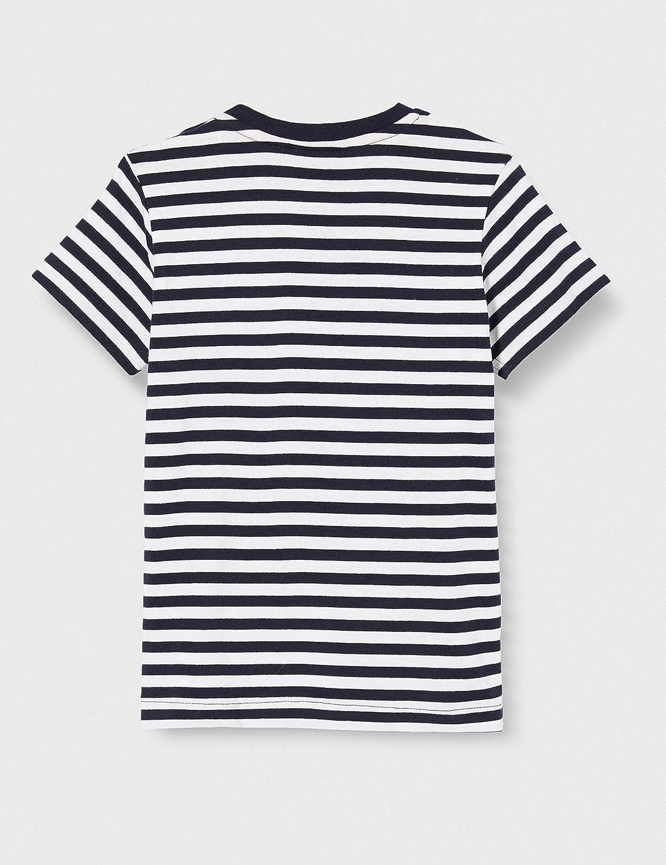 Brums T-Shirt Jersey Rigata con Taschino Bimbo