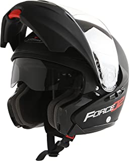 Scotland Casco Modular de Moto Modelo Force 02, Negro Mate, 59-60 (