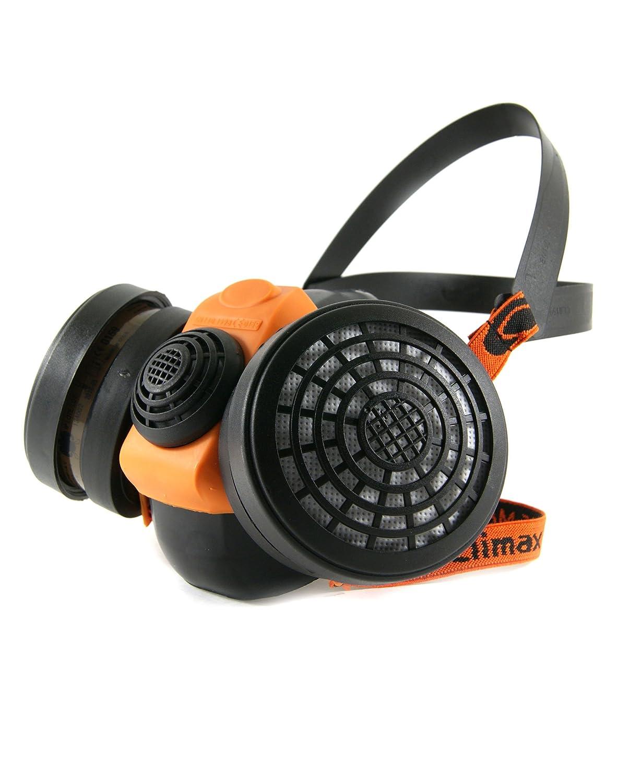 Profi Atemschutz Gasmaske Lackiermaske Atemschutzmaske Halbmaske mit 2 Filtern A2