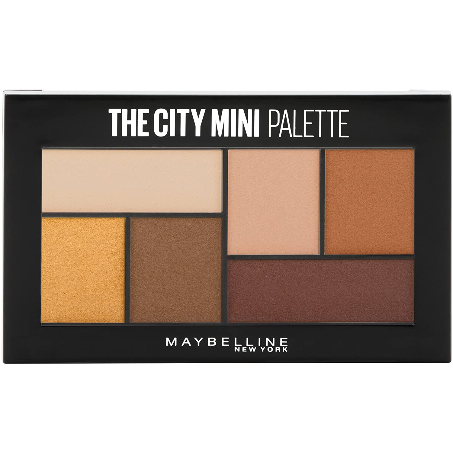 Maybelline New York The City Mini Eyeshadow Palette Makeup, Blushed Avenue, 0.14 oz. 041554552492