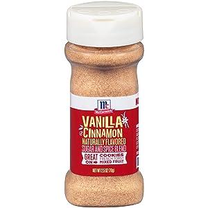 McCormick Natural Flavor Sugar & Spice, Vanilla Cinnamon, 2.5 Oz