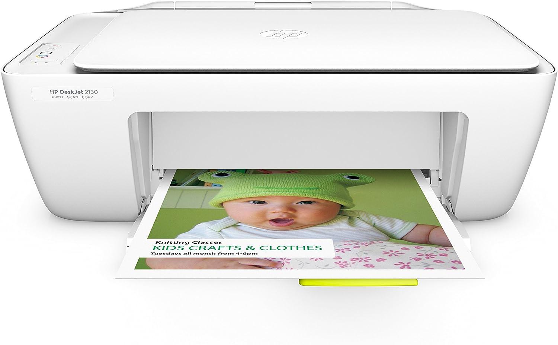 HP DeskJet 2130 - Impresora multifunción de tinta: Amazon.es ...