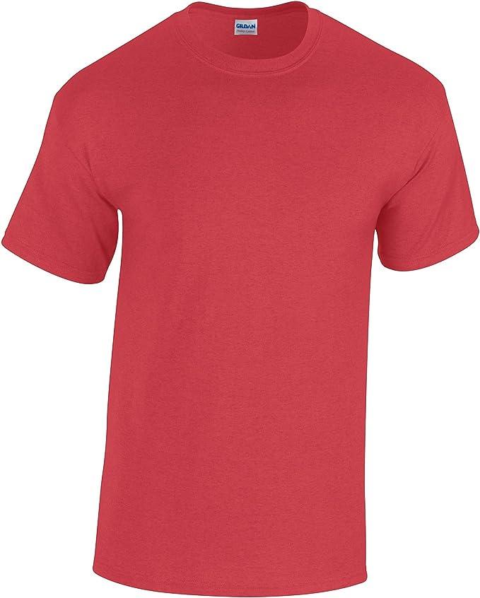 Gildan - Camiseta básica de Manga Corta Modelo Heavy Cotton para ...