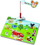 Melissa & Doug Disney Mickey Mouse Clubhouse Hide and Seek Wooden Magnetic Game