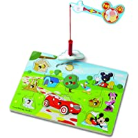 Melissa & Doug Mickey Mouse Clubhouse Hide and Seek Wooden Magnetic Game