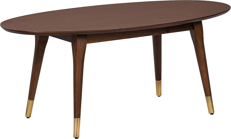 Elle Decor Clemintine Coffee Table, Walnut