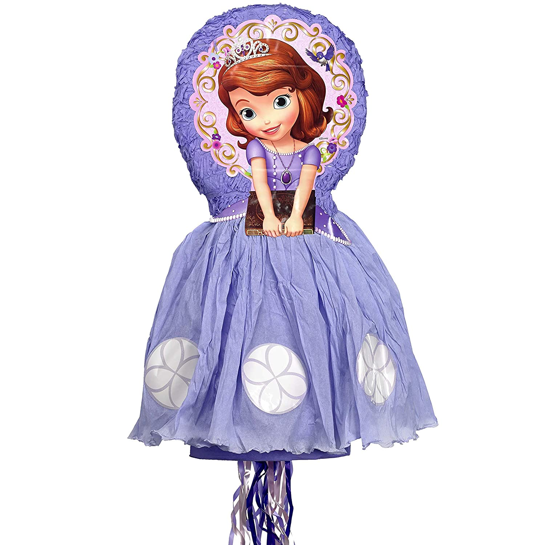 Disney Sofia the First 3D Pull String Pinata