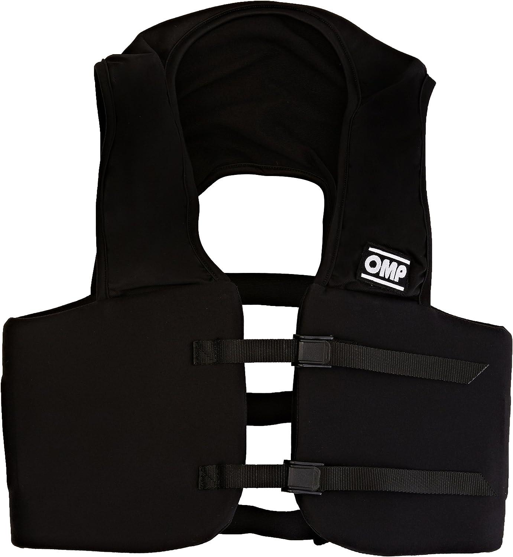Talla XL OMP OMPKK040010XL071 Protector Costilla Negro