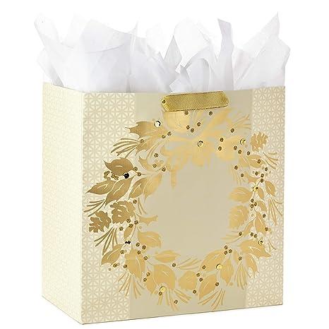 Amazon.com: Hallmark – Bolsa de regalo de Navidad extra ...