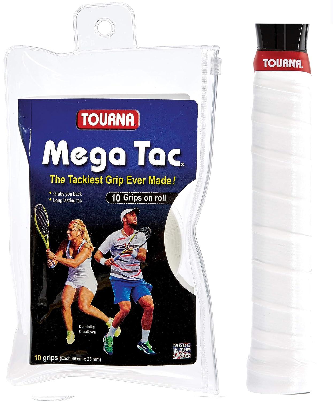 Unique Unisex - Adultos Tennis Griffbänder Mega TAC Blanco 10er ...