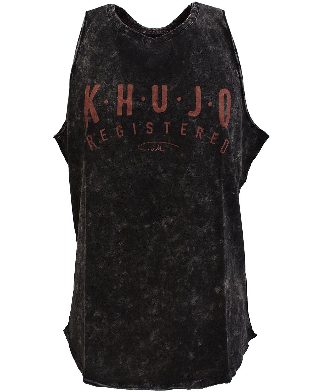 khujo Men's T-Shirt Sleeveless Vest