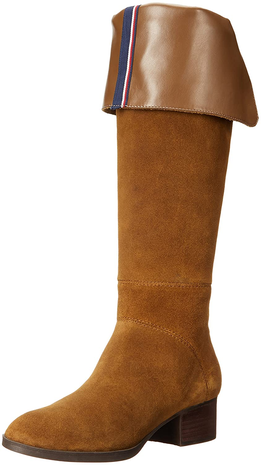 Tommy Hilfiger Women's Gianna Western Boot B01LX13S7L 7 B(M) US|Brown