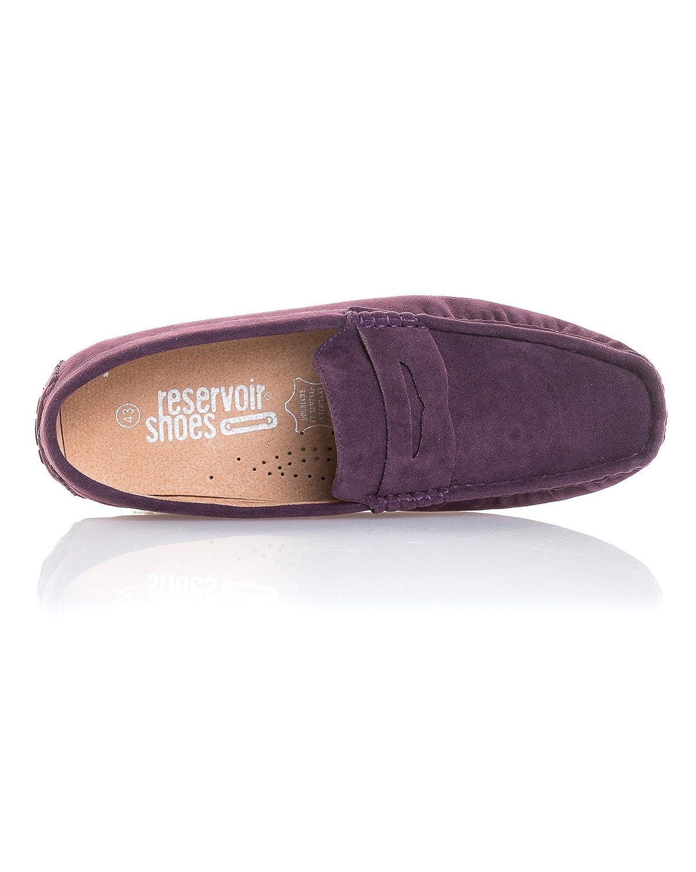 Reservoir Shoes - Mocasines para Hombre, Color Morado, Talla 45: Amazon.es: Zapatos y complementos