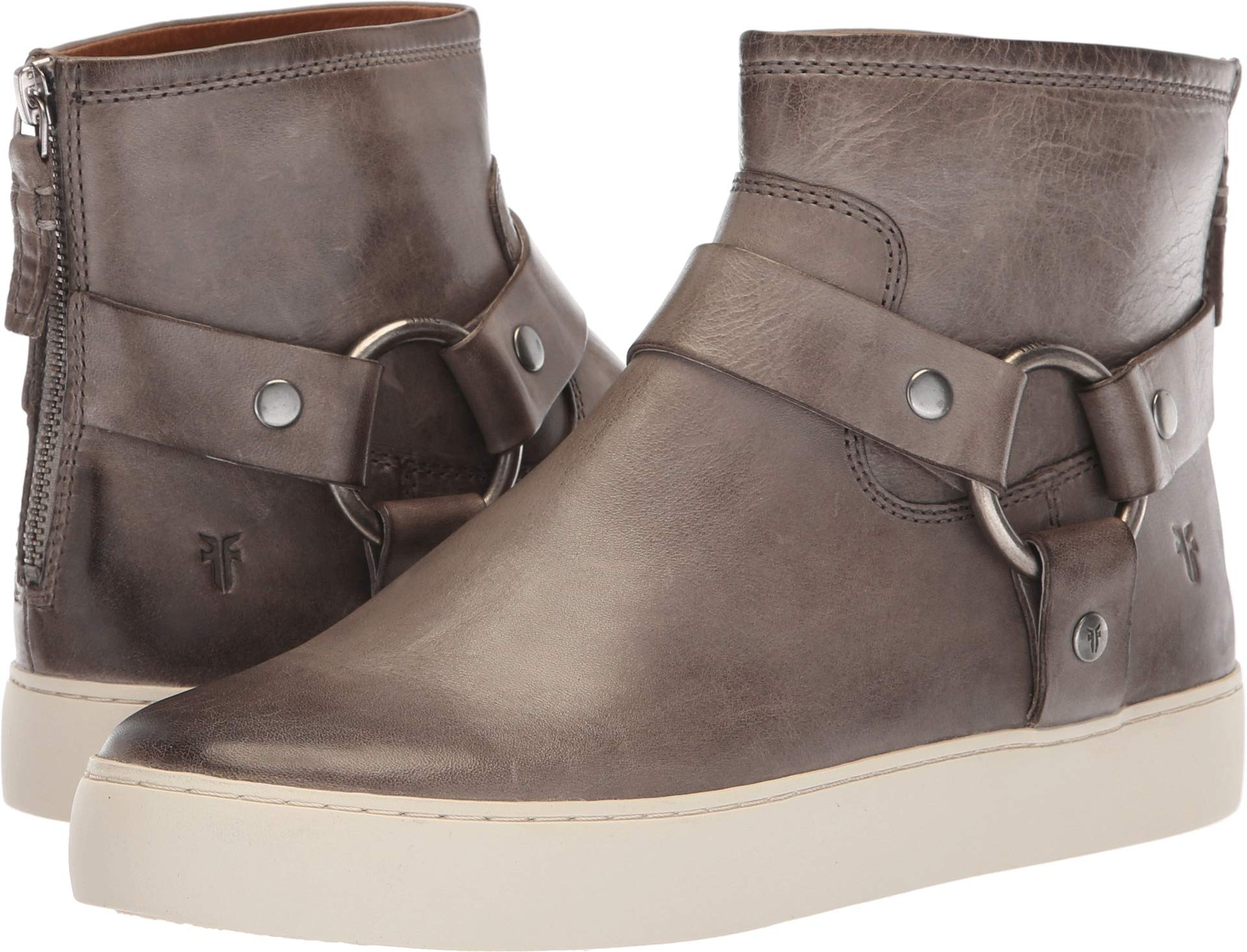 FRYE Women's Lena Harness Bootie Sneaker, Grey, 11 M US by FRYE