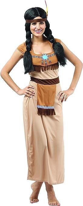 Disfraz de india para mujer L: Amazon.es: Juguetes y juegos