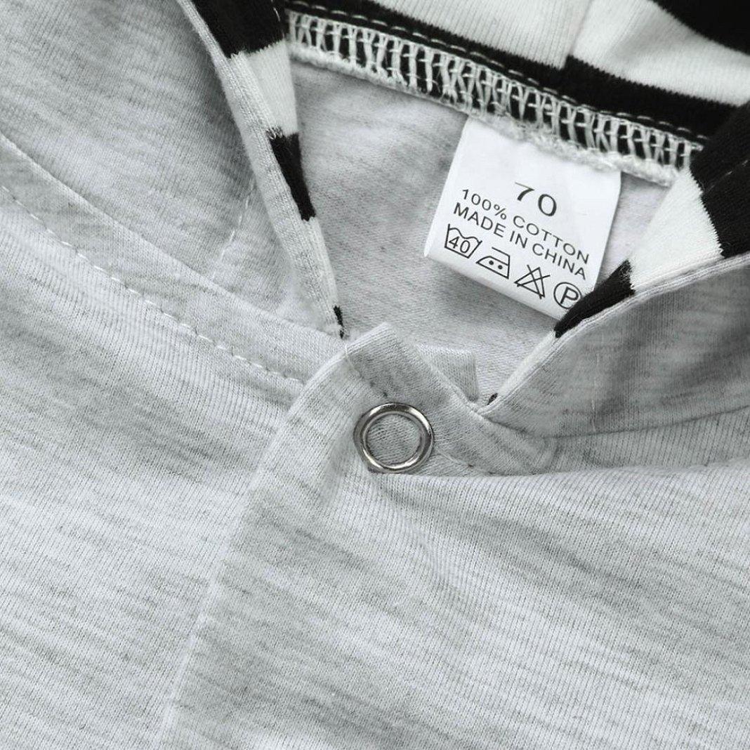 Sisit - Pijama entero - para bebé niño gris 70 : Amazon.es: Ropa y accesorios