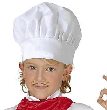Guirca Gorro cocinero infantil tela u 13010.0  Amazon.es  Juguetes y ... 33f69610cd7