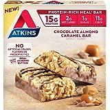Atkins, Meal Bar, Chocolate Almond Caramel, 5 Count