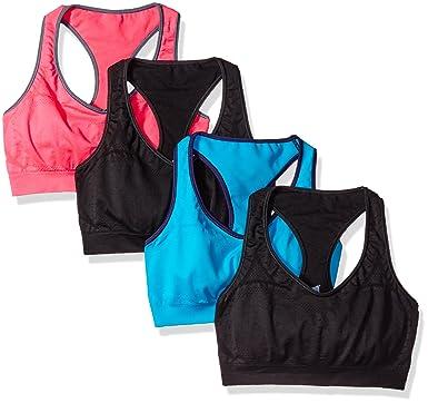 708949e5eebb Hanes Women's Jogbra (Pack of 4) at Amazon Women's Clothing store: